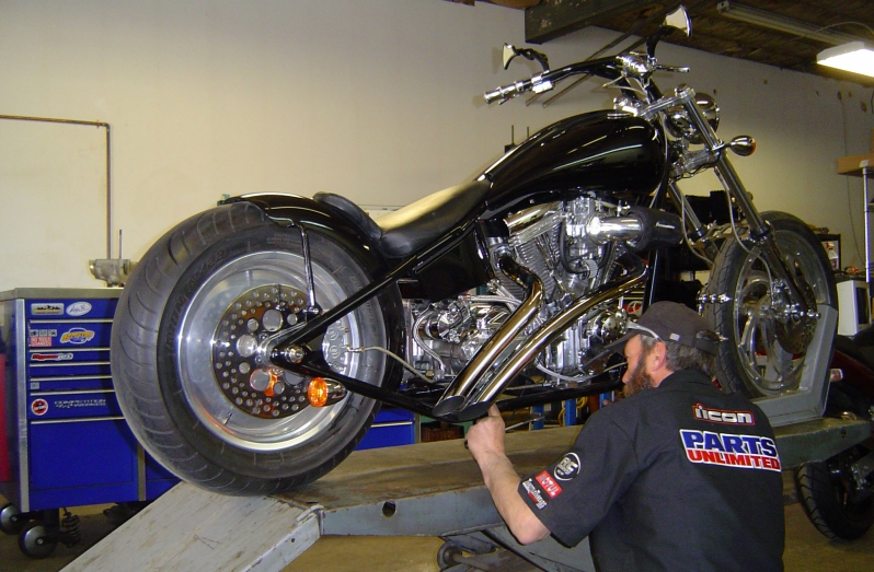 Motorcycle repair and inspections