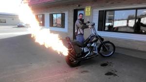 Flame Bike